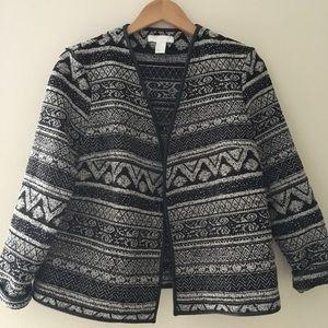H&M Jacquard Weave Jacket